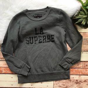 Madewell sezane la superbe sweatshirt